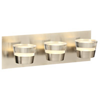 Sitra LED 16 inch Satin Nickel Vanity Wall Light