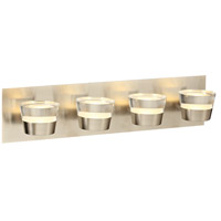 Sitra LED 22 inch Satin Nickel Vanity Light Wall Light