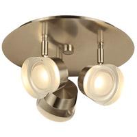PLC Lighting 90068SN Sitra LED 12 inch Satin Nickel Vanity Light Wall Light
