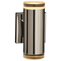 Syros LED 5 inch Polished Chrome ADA Wall Sconce Wall Light, Large