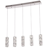 Miramar LED 36 inch Polished Chrome Linear Pendant Ceiling Light