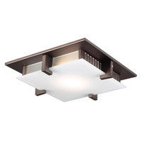 Polipo LED 16 inch Oil Rubbed Bronze Flush Mount Ceiling Light
