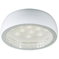 Briolette LED 16 inch White Flush Mount Ceiling Light