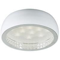 PLC Lighting 91108WH Briolette LED 16 inch White Flush Mount Ceiling Light
