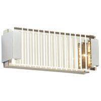 PLC Lighting 91140PC River LED 13 inch Polished Chrome Vanity Light Wall Light Small