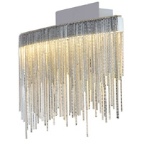 Davenport LED 13 inch Polished Chrome Pendant Ceiling Light