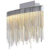 PLC Lighting 91158PC Davenport LED 13 inch Polished Chrome Pendant Ceiling Light