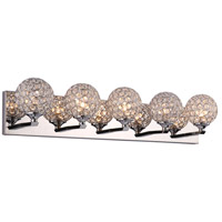 Alexa LED 28 inch Polished Chrome Vanity Wall Light