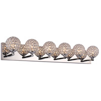 Alexa LED 34 inch Polished Chrome Vanity Wall Light
