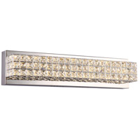 Diamond LED 20 inch Polished Chrome Vanity Wall Light