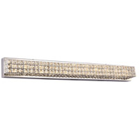 Diamond LED 40 inch Polished Chrome Vanity Wall Light