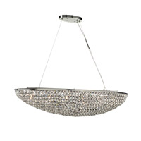 PLC Lighting Alexa 6 Light Pendant in Polished Chrome 92916PC