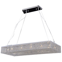Alexa 12 Light 39 inch Polished Chrome Pendant Ceiling Light