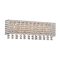 PLC Lighting Alexa 5 Light Bath Light in Polished Chrome 92923PC