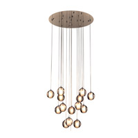 PLC Lighting Nuetron 15 Light Pendant in Polished Chrome 92935PC