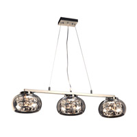 PLC Lighting Rokka 6 Light Pendant in Polished Chrome 92953PC