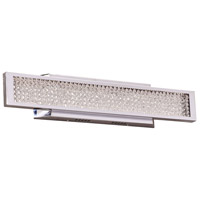 PLC Lighting 92956PC Commodore LED 24 inch Polished Chrome Vanity Light Wall Light Small