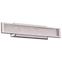 PLC Lighting 92956PC Commodore LED 24 inch Polished Chrome Vanity Light Wall Light Small