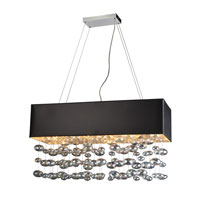 PLC Lighting Bubbles 6 Light Halogen Pendant in Polished Chrome 96927-PC