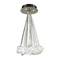 PLC Lighting Elegance 3 Light Chandelier in Polished Chrome 96975-PC