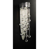 Pearl 1 Light 6 inch Polished Chrome Sconce Wall Light