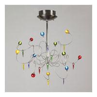 PLC Lighting Nautilus 12 Light Chandelier in Satin Nickel 97973-SN photo thumbnail