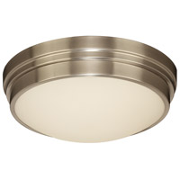 PLC Lighting 99900SNLED Turner LED 14 inch Satin Nickel Flush Mount Ceiling Light