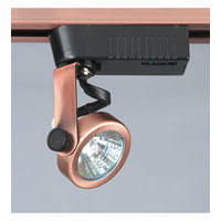 PLC Lighting Gimbal 1 Light Track Fixture in Copper TR10-CP