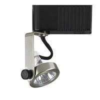 PLC Lighting Gimbal 1 Light Track Fixture in Satin Nickel TR10-SN