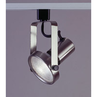 PLC Lighting Gimbal 1 Light Track Fixture in Satin Nickel TR121-SN