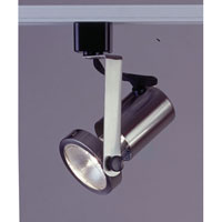 PLC Lighting Gimbal 1 Light Track Fixture in Satin Nickel TR122-SN