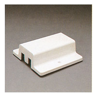 PLC Lighting Track Accessories 1-Circuit Floating Canopy in White TR126-WH