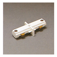 PLC Lighting Track Accessories 1-Circuit Mini Joiner in White TR129-WH