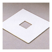 PLC Lighting Track Accessories Outlet Box Cover in White TR137-WH