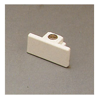 PLC Lighting Track Accessories Dead End Cap in White TR138-WH