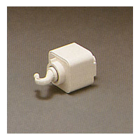 PLC Lighting Track Accessories Line Voltage Pendant Adaptor in White TR140-WH