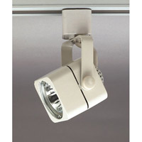 PLC Lighting Echo 1 Light Track Fixture in White TR15-WH