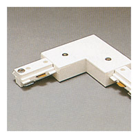 Track Accessories 120V White Track Connector Ceiling Light