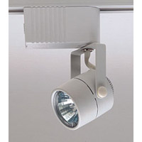 PLC Lighting Slick 1 Light Track Fixture in White TR28-WH