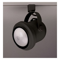 PLC Lighting Bell I 1 Light Track Fixture in Black TR302M-BK