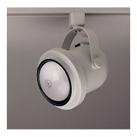 PLC Lighting Bell I 1 Light Track Fixture in White TR302M-WH