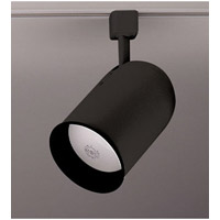 PLC Lighting Bullet 1 Light Track Fixture in Black TR303M-BK