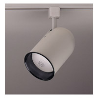 PLC Lighting Bullet 1 Light Track Fixture in White TR303M-WH