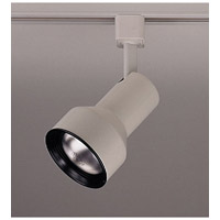 PLC Lighting Pacific 1 Light Track Fixture in White TR306S-WH