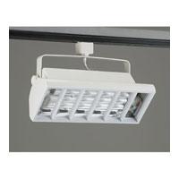 PLC Lighting TR552-WH Biax-cfl 2 Light White Track Fixture Ceiling Light