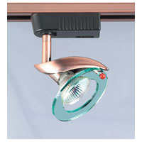 PLC Lighting Sophia 1 Light Track Fixture in Copper TR602-CP