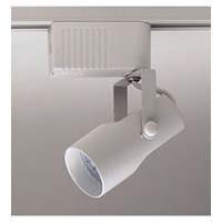 PLC Lighting Projecta 1 Light Track Fixture in White TR618-WH