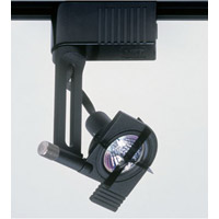 PLC Lighting Target 1 Light Track Fixture in Black TR800-BK