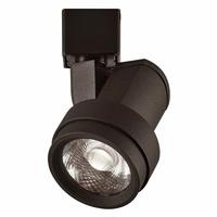 PLC Lighting TR266BK Opera 1 Light 120v Black Track Light Ceiling Light