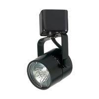 PLC Lighting TR23BK Slick 1 Light 120v Black Track Light Ceiling Light